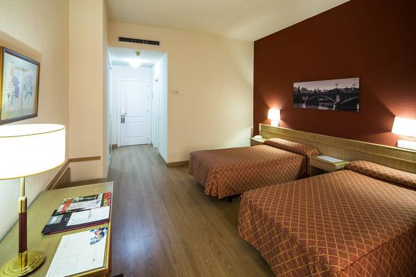 DOUBLE STANDARD ROOM FOR SINGLE USE TRH La Motilla Business & Cultural Hotel en Dos Hermanas